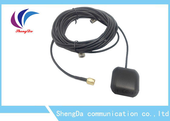 China Imprägniern Sie externe GPS-Antenne, aktive GPS Antenne 28DBI für Auto-Satelliten-Navigation usine